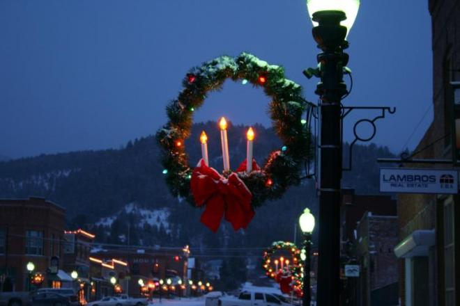 Philipsburg Christmas lights