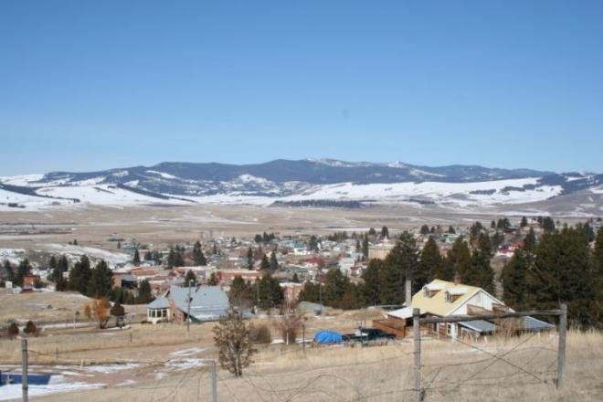 Overlooking Philipsburg, MT